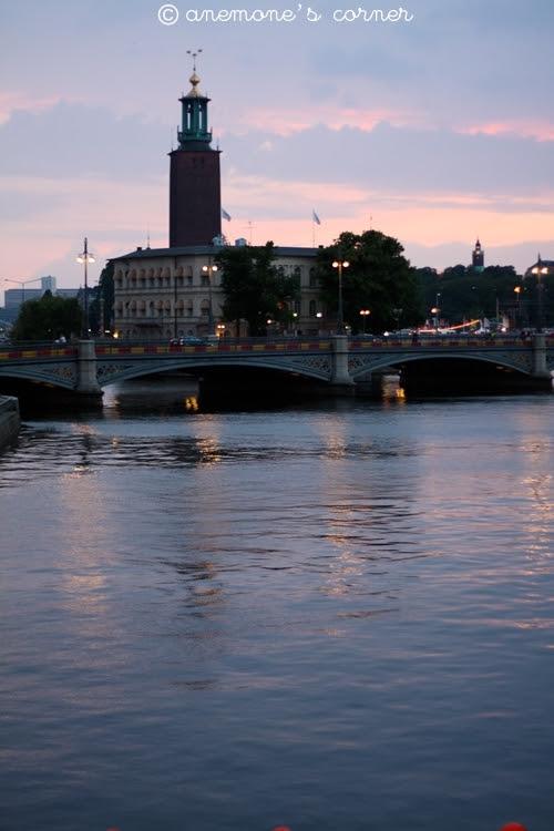 Stoccolma al tramonto..