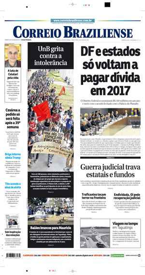 Correio Braziliense, 21 de Junho de 2016