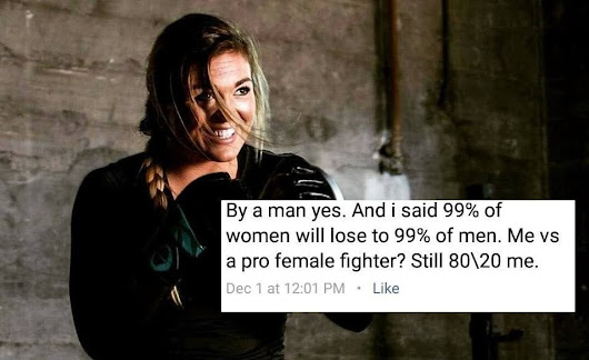 A Female MMA Fighter Is Stepping Into The Cage With An Internet Troll Who Doesn't Believe Women Can Beat Men