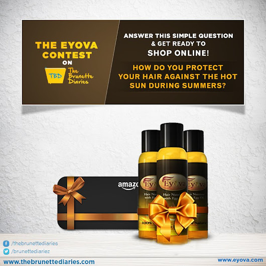 "The Brunette Diaries on Twitter: ""#ContestAlert Participate in the #EyovaOnTBD #Contest to win online shopping vouchers. Hurry; you have time till 6PM """