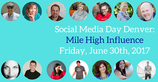 Top 10 Reasons to Attend Social Media Day Denver: Mile High Influence - Socially Powered