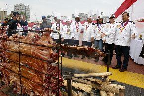 Chefs internacionales se dieron cita en Congreso Mundial de gastronomía realizado en el Callao. Foto: ANDINA/Norman Córdova