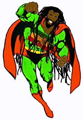 green-suit