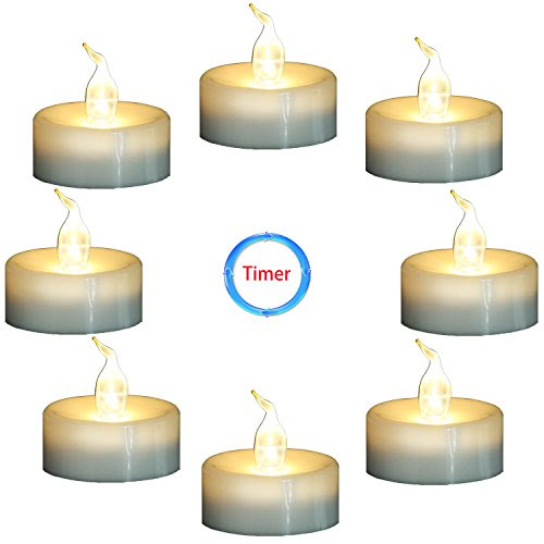 Review for Topstone Flameless Flickering Candles with Timer,6 Hours On... - Rhonda Martin - Blog Booster