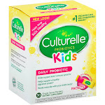 Culturelle Kids Probiotic, Daily, Single Serve Packets, No Flavor Added - 50 Count