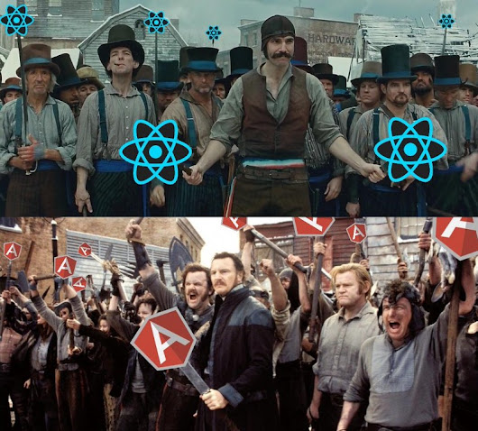 Angular 2 versus React: There Will Be Blood