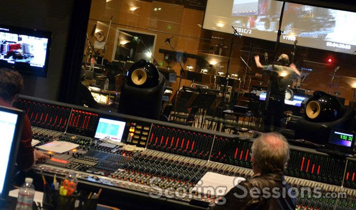 The music score for TRANSFORMERS: DARK OF THE MOON is composed at the Sony Scoring Stage in Culver City.