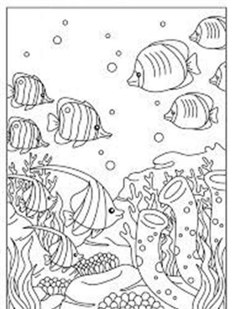 ausmalbilder erwachsene unterwasserwelt  kostenlose