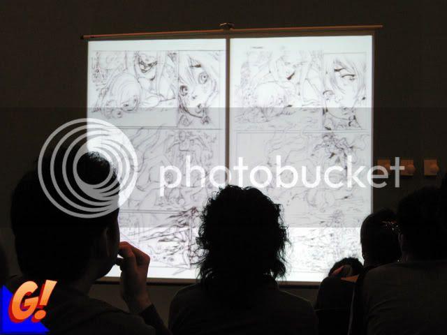 Creating Comics Seminar 2010