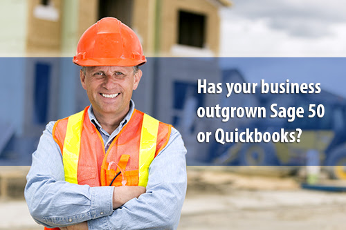 MCS Ltd - Sage Construction Software Solutions - Has your business outgrown Sage 50 or QuickBooks