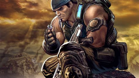 full hd wallpaper gears  war main character talisman art
