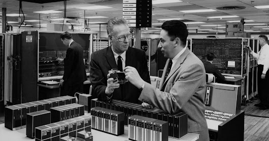 Erich Bloch, Who Helped Develop IBM Mainframe, Dies at 91 - The New York Times