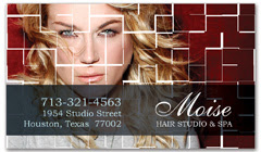 BCS-1030 - salon business card