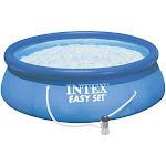 Intex Easy Set Pool with Filter, Blue
