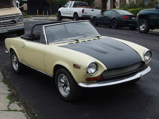 1970 Fiat 124 spider project