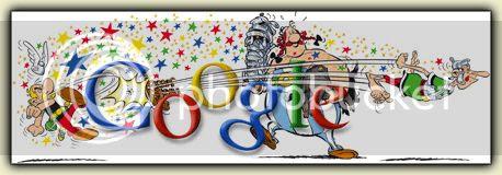 Asterix Google Doodle