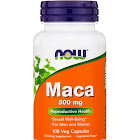 Now Foods Maca, 500 mg, Capsules - 100 count