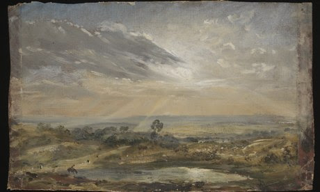 Branch Hill Pond: Hampstead by John Constable