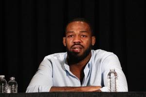 Jon Jones coletiva de imprensa UFC Las Vegas MMA (Foto: Evelyn Rodrigues)