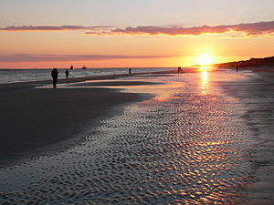 Sunset on Hilton Head Island, December 28, 2006