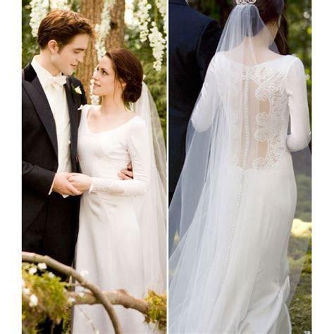 Bella (Kristen Stewart) Wedding Dress in Movie Twilight