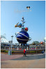 The rides at Hong Kong Disneyland