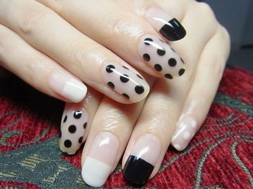 LE FASHION BLOG NAIL CANDY POLKS DOTS NAIL ART INSPIRATION 2 photo LEFASHIONBLOGNAILCANDYPOLKSDOTS2.jpg