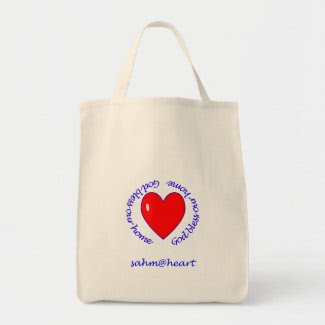 sahm@heart God Bless Our Home Bag