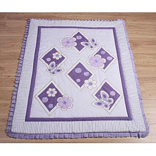 GEENNY Lavender Butterfly 13PCS Crib Bedding Set - Baby - Baby ...