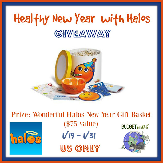 Healthy New Year with Halos Package Giveaway!! (ends 1/31)