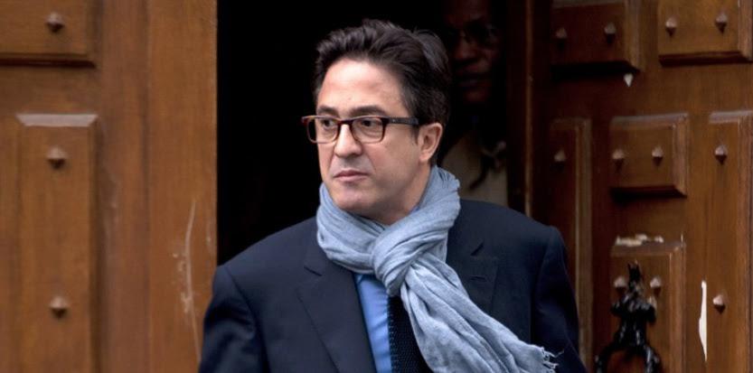 Aquilino Morelle, le 9 mai 2012 à Paris. (FRED DUFOUR/AFP PHOTO)