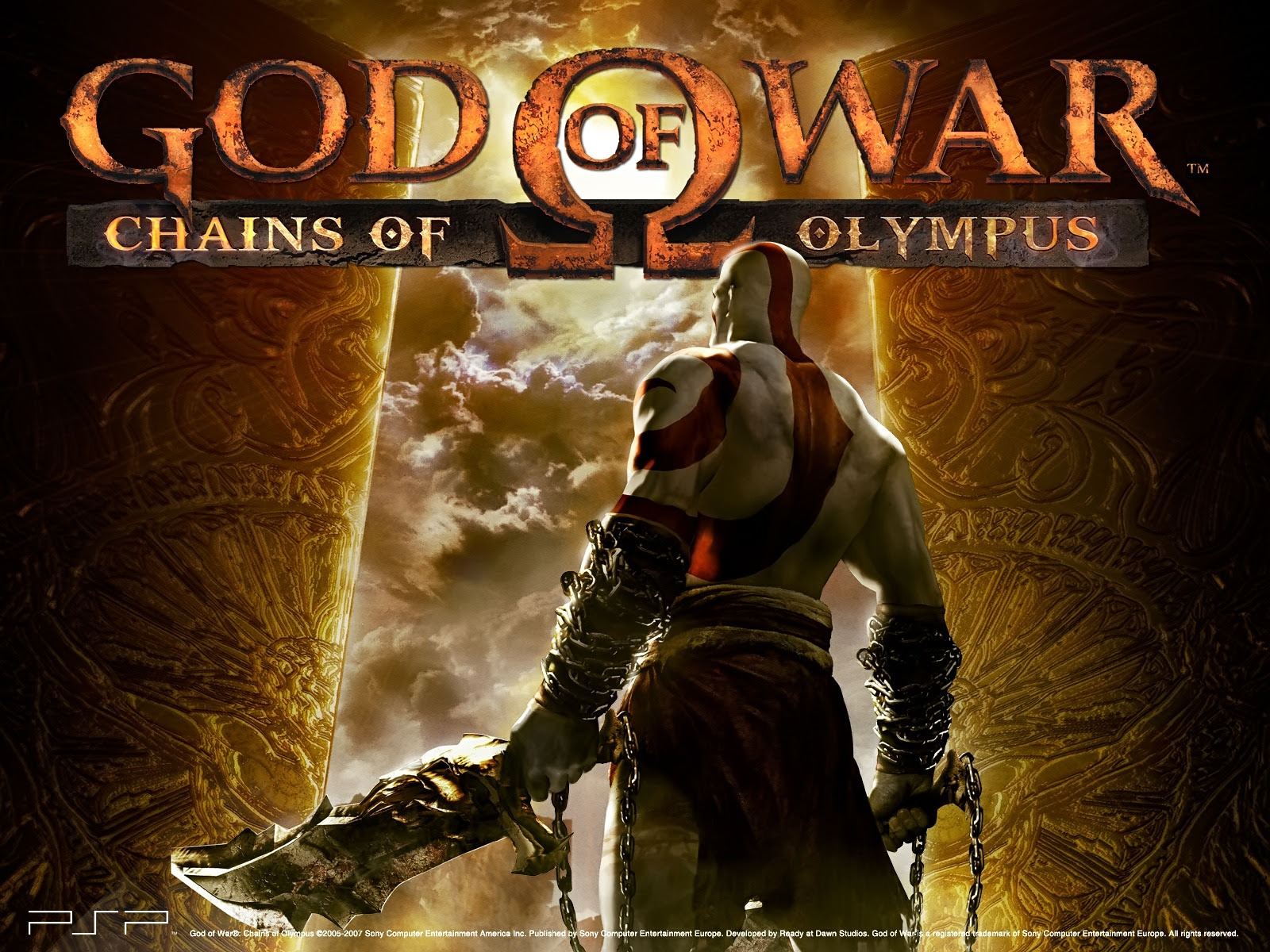 God Of War Chains Of Olympus Wallpaper God Of War Games Wallpapers