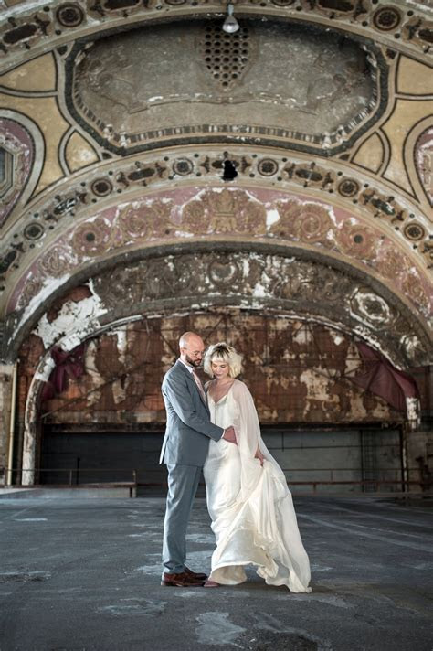 Art Nouveau Wedding Inspiration at the old Michigan