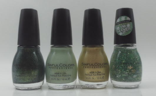 SinfulColors Luck of the Stylish