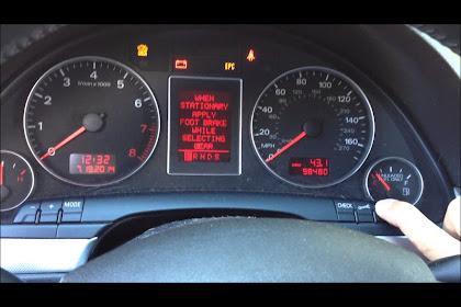 2007 Audi A4 Oil Reset
