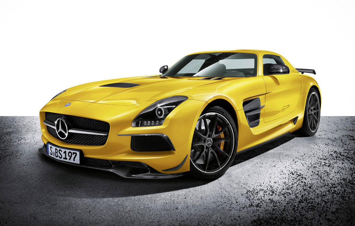 2013 Mercedes-Benz SLS AMG Black Series Finally Revealed ...