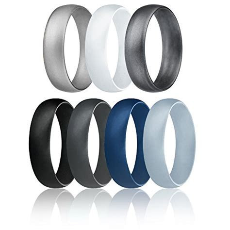 HeGifts.com   ROQ Silicone Wedding Ring for Men
