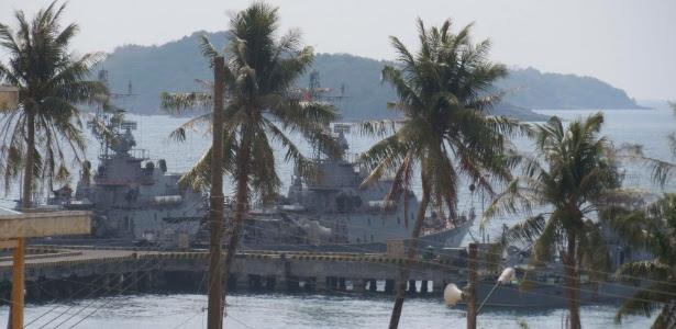 Navio de busca e salvamento partiu de Phu Quoc, uma ilha do Vietnã, para procurar o avião da Malaysia Airlines