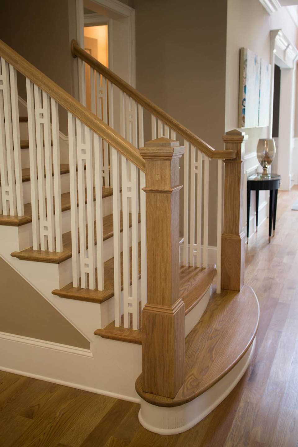 Craftsman Staircase Design Artistic Southern Staircase