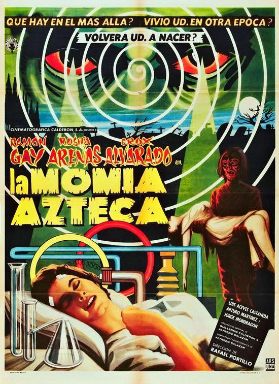 affiche vintage film horreur 1950 11 Affiches de films dhorreur des années 50  design