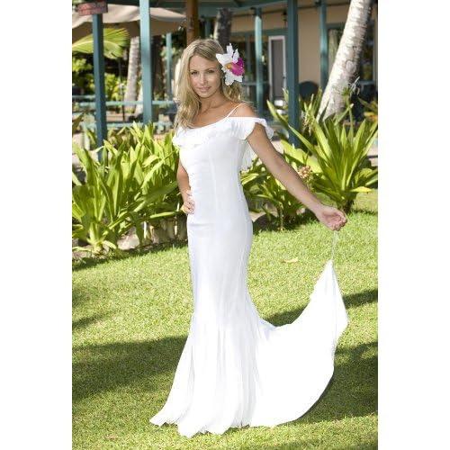 Hawaiian Beach Wedding Dresses: Queen Kaahumanu Hawaiian Wedding Holoku