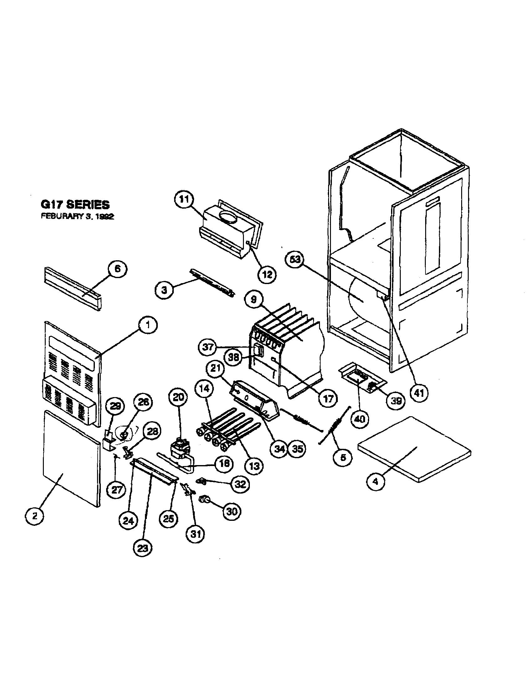 Furnace Parts Diagram