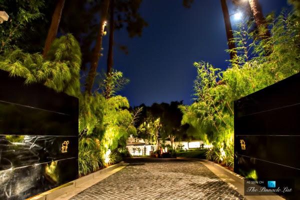 Luxury driveway