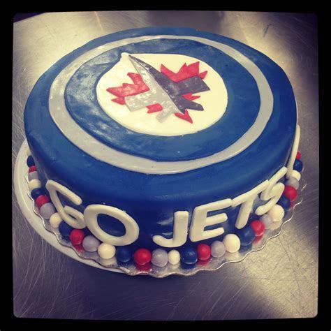 Winnipeg jets cake   Cakes   Pinterest cake, Birthday Cake