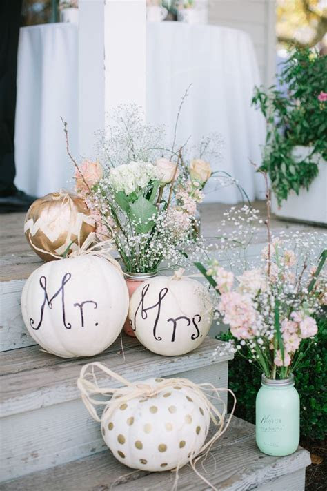 40 best Roundup Post: Pumpkin Wedding Decor images on