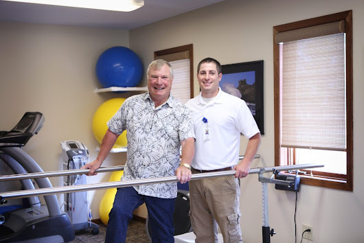 Getting back up at Henning Physical Therapy Clinic - Tri Living Well