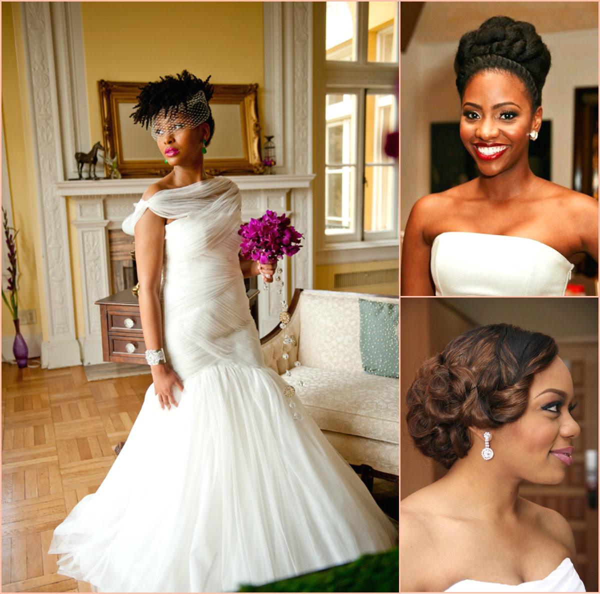 Charming Black Women Wedding Hairstyles Hairstyle 2017