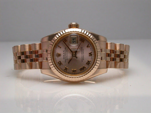 Rolex Datejust 179175 18k Pink Gold Ladies Watch Automatic... for $14,595 for sale from a Seller on Chrono24