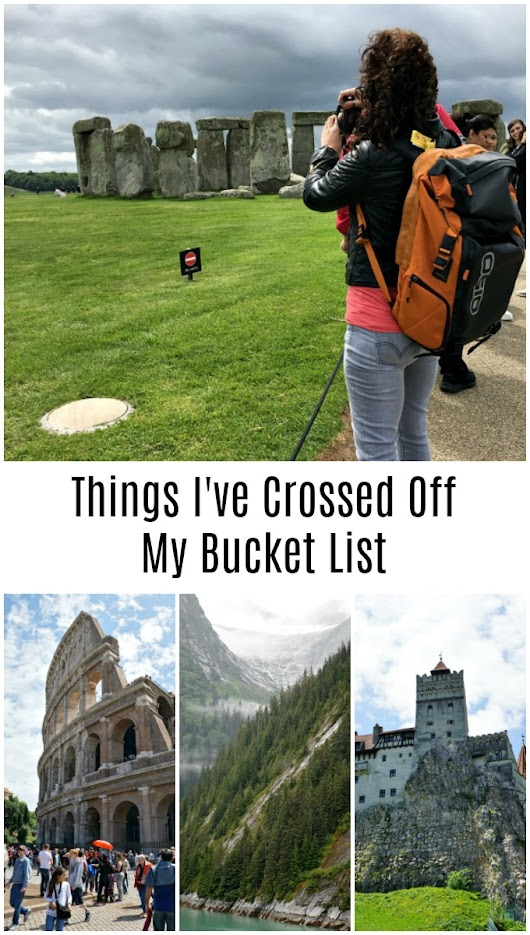 Things I've Crossed Off My Bucket List in the Last 5 Years - The Rebel Chick