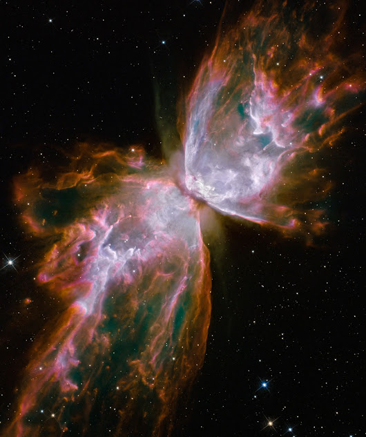 APOD: 2013 June 7 - NGC 6302: The Butterfly Nebula